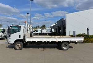 2012 ISUZU NPR 400 - Tray Truck - Tray Top Drop Sides