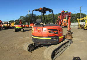Used 2015 Kubota U48 for Sale 4.8T Mini Excavator for sale