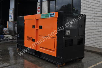 110 KVA KOMATSU DENYO SILENCED INDUSTRIAL DIESEL GENERATOR , SUPER RELIABLE , LONG LASTING AND THE M