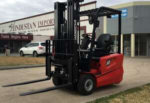 Brand new 1.8 Tonne 3-Wheel Electric Forklift