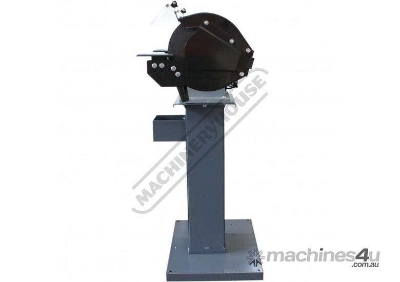 BG-12 Industrial Pedestal Grinder with Stand Ø305mm Fine & Coarse Wheels 2.2kW - 3HP Motor Power