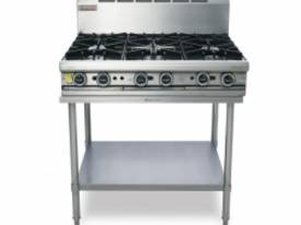 Trueheat T90-6 Gas Heated Cooktop With 6 Open Burn - picture0' - Click to enlarge