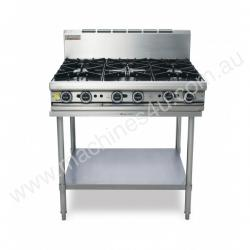 Trueheat T90-6 Gas Heated Cooktop With 6 Open Burn