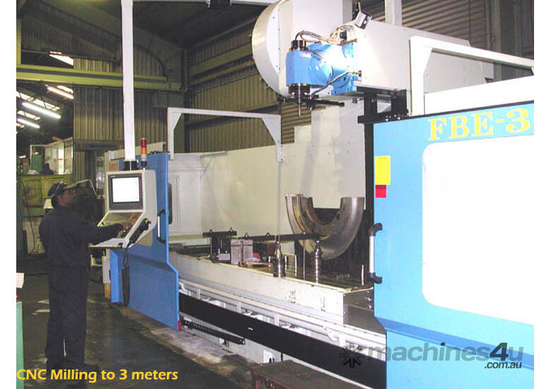Eumach CNC Universal Bed Mills