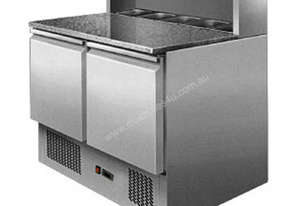 2 DOOR SALADETTE PREP FRIDGE - ES02-58