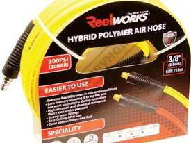 RWK-15 Industrial Polymer Air Hose  15 Metre x Ø9.5mm ID Hose - picture0' - Click to enlarge