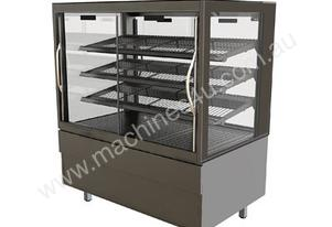 FPG 4H15-SQ-SD 4000 Series Square Heated Sliding Door Food Cabinet - 1500mm
