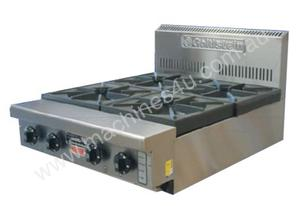 Goldstein PFB-24 4 Burner Gas Bench Top