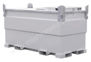 2000 LITRE SELF BUNDED DIESEL & OIL FUEL TANK
