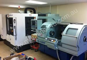 Ajax 360mm Swing Flat Bed Teach-In CNC Lathe