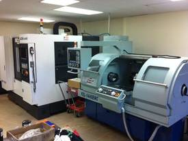 Ajax 360mm Swing Flat Bed Teach-In CNC Lathe - picture0' - Click to enlarge