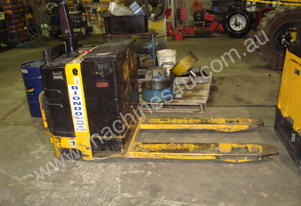 Used Warehouse Powered Pallet Truck