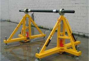 30T AIRCRAFT JACKS - HYDRAULIC ADJUSTABLE DRUM STANDS