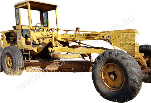 Cat 12E Grader with Rear Rippers