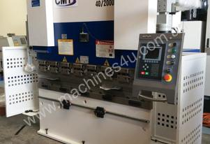 CMT 2000mm X 40T CNC PRESS BRAKE