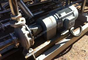 PUMP 18.5 KW REGENT STAINLESS STEEL