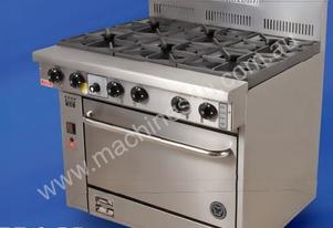 6 Burner Gas Range 711mm Oven (28 Inch)