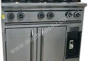 8 Burner stove + Commercial Oven under