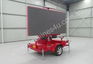 2005 Mak Trailers Variable Message Board