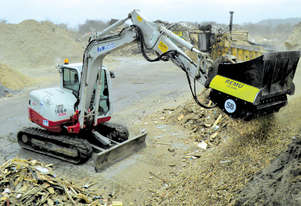 REMU XO2150 LOADER CROSSOVER SCREENING BUCKET (3T)