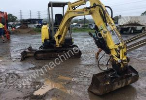 Yanmar Fair condition mini excavator