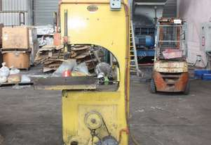 WOLFENDEN 3HP 3 phase heavy duty metal bandsaw