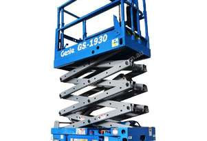 Scissor Lift - 5.8m (19ft) electric Genie