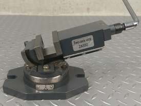 Milling Vice 50mm METEX Bi Axis Two Way Swivel Base Tilting Vise Metal Wood Work - picture1' - Click to enlarge