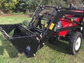New Huaxia 40hp Tractor, with 4in1 front end loader  - picture6' - Click to enlarge