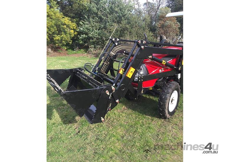 New Huaxia 40hp Tractor, with 4in1 front end loader