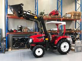 New Huaxia 40hp Tractor, with 4in1 front end loader  - picture0' - Click to enlarge