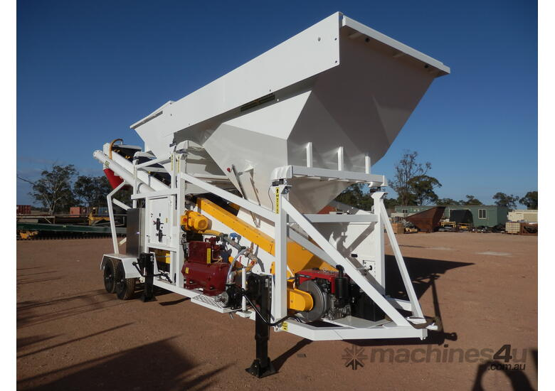 Thomas Top of the Range Mobile Batching Plant