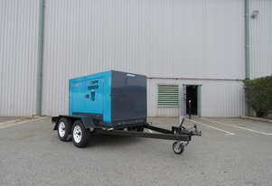 AIRMAN PDS265S-5B2-T 265cfm Trailer mounted Portable Diesel Air Compressor