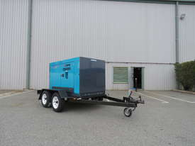 AIRMAN PDS265S-5B2-T 265cfm Trailer mounted Portable Diesel Air Compressor - picture0' - Click to enlarge