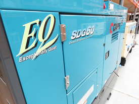 Airman SDG60S-7A6N 50kVA Prime Power Diesel Generator with an Extended 400L Tank - picture3' - Click to enlarge
