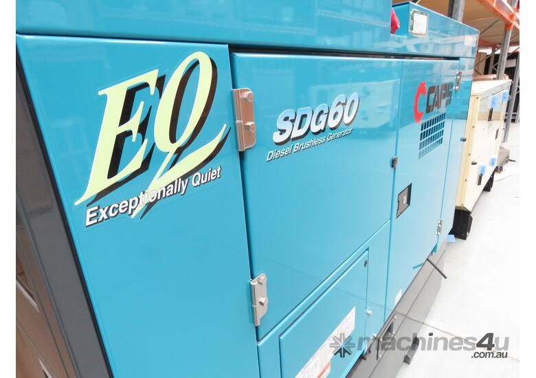 Airman SDG60S-7A6N 50kVA Prime Power Diesel Generator with an Extended 400L Tank