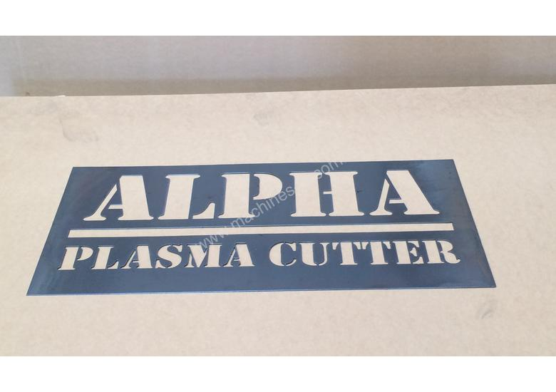 Alpha CNC Plasma Cutter AP1325 1.3x2.5m - servo motor driven - 20m/min 1.3x1.3m or 1.5x3m available