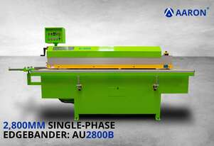 Aaron 2.8m Single-Phase Compact Edgebander | Small, Affordable, Quiet, Solid | AU2800B