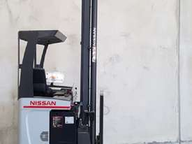 Reach Truck 7m Lift Height Nissan UMS Low Hours Battery Electric - picture4' - Click to enlarge