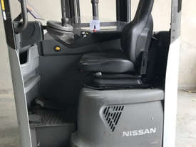 Reach Truck 7m Lift Height Nissan UMS Low Hours Battery Electric - picture7' - Click to enlarge
