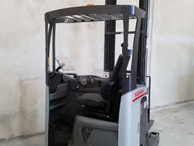 Reach Truck 7m Lift Height Nissan UMS Low Hours Battery Electric - picture11' - Click to enlarge