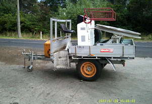 optical fibre winch , diesel powered , trailer mount