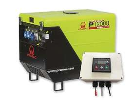 Pramac 11.9kVA Petrol Silenced Generator + 2 Wire  - picture17' - Click to enlarge
