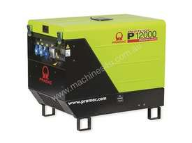 Pramac 11.9kVA Petrol Silenced Generator + 2 Wire  - picture2' - Click to enlarge