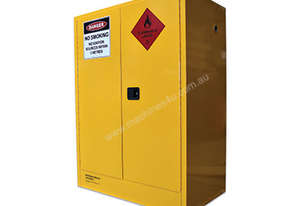 450L Indoor Flammable Liquids Cabinet. Built in Australia to meet Australian Standards (AS1940)