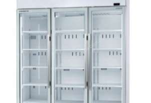 SKOPE - TME1500-A Active Core 3 Door White Display Fridge