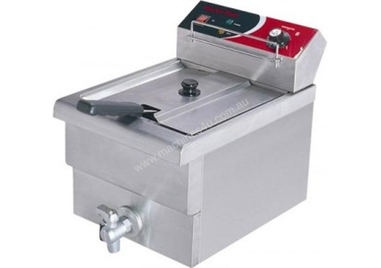 F.E.D EF-S7.51 10 Amp Single Benchtop Electric Fryer with Cold Zone