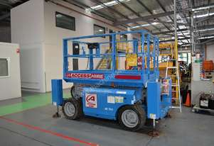 2008 Genie GS-2668 RT Scissor Lift