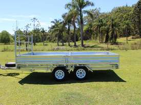 Ozzi 14x7 Flat Top Trailer 2000kg - picture5' - Click to enlarge