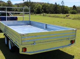 Ozzi 14x7 Flat Top Trailer 2000kg - picture7' - Click to enlarge